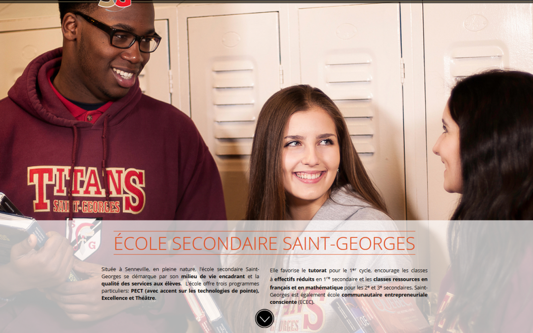 École secondaire Saint-Georges
