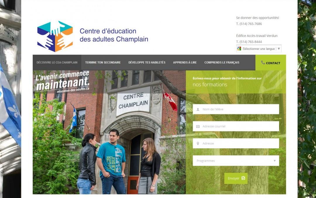 Centre d'éducation des adultes Champlain