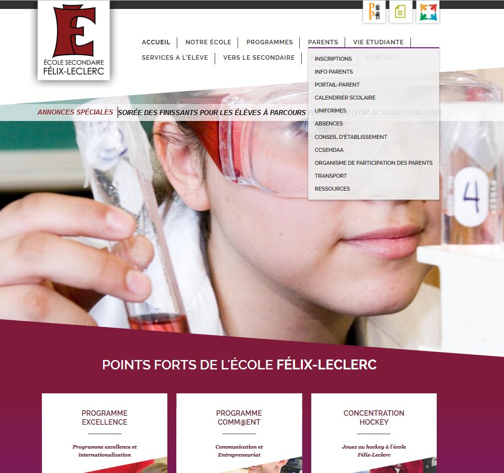 École secondaire Félix-Leclerc