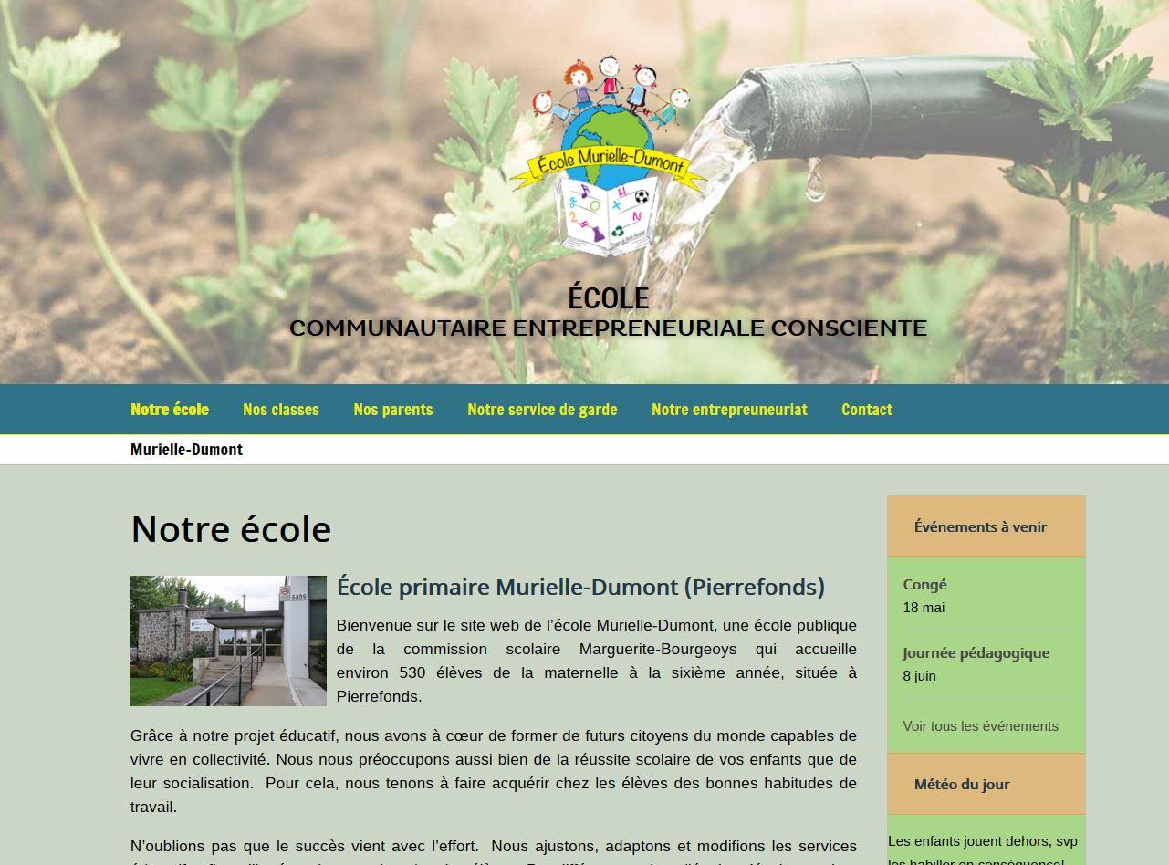 École primaire Murielle-Dumont