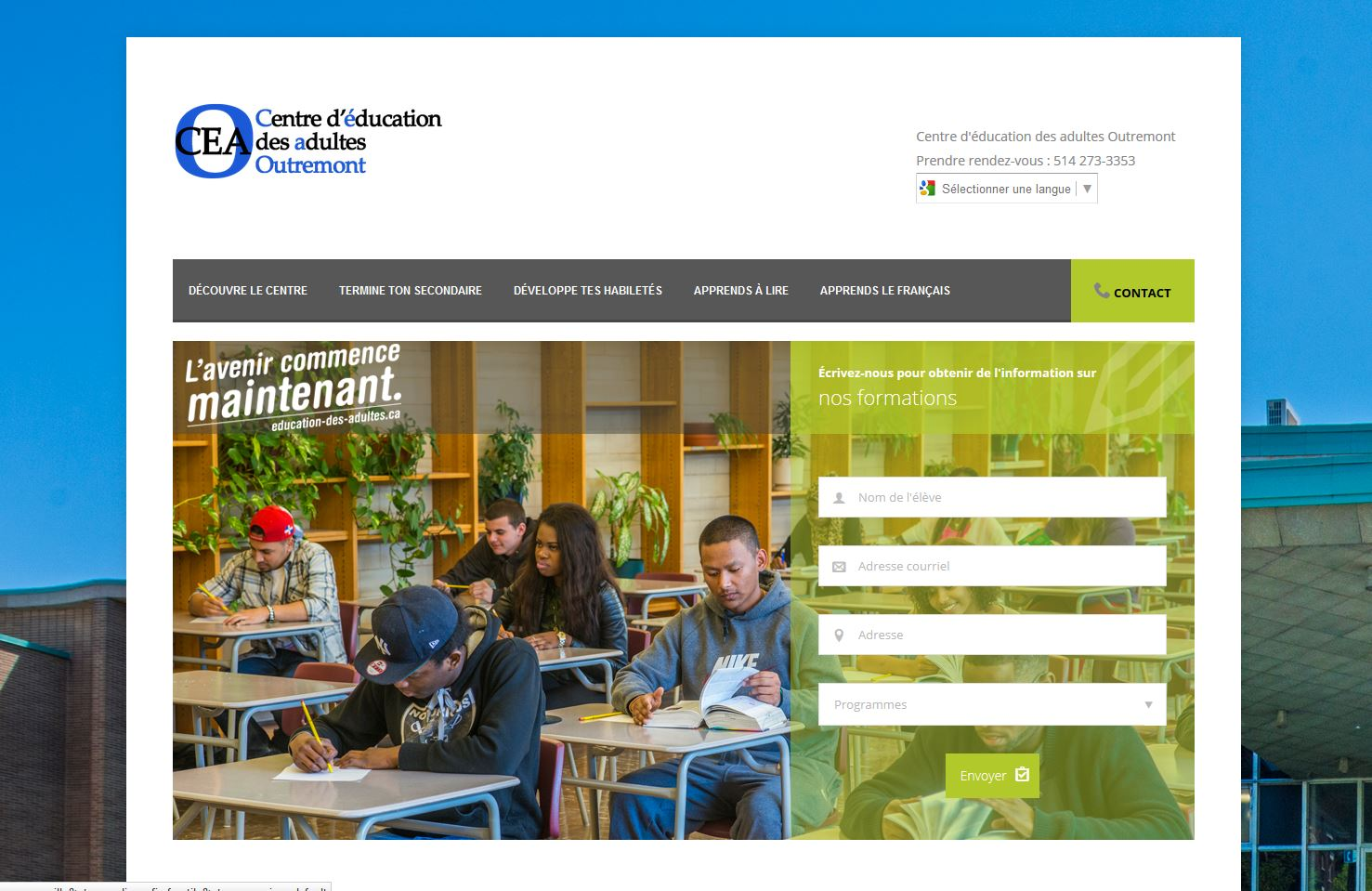 Centre d'éducation des adultes Outremont