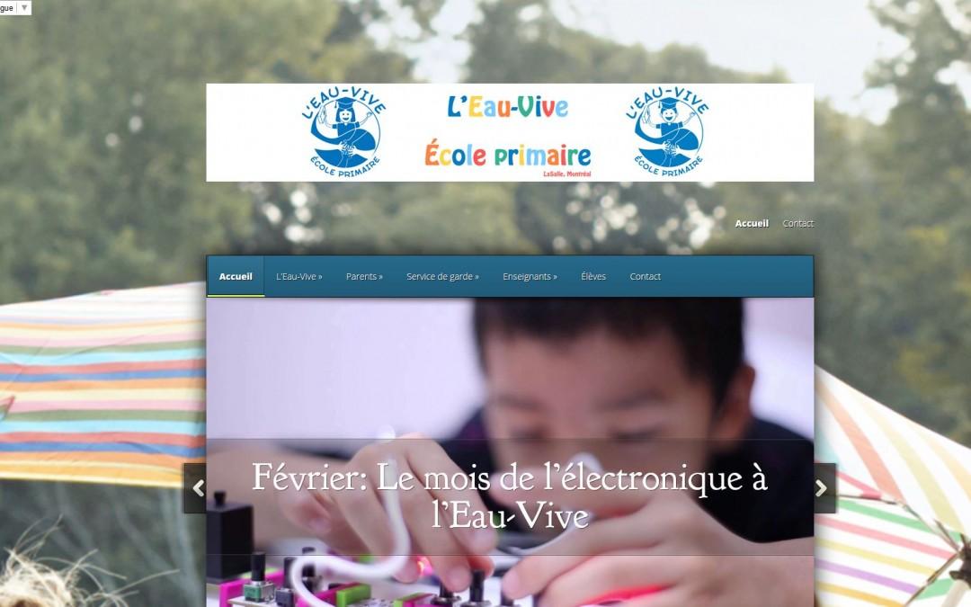 École primaire L'Eau-Vive