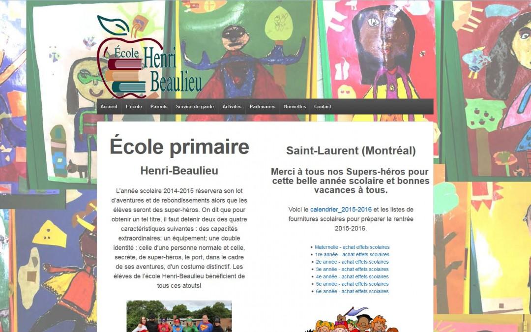 École primaire Henri-Beaulieu