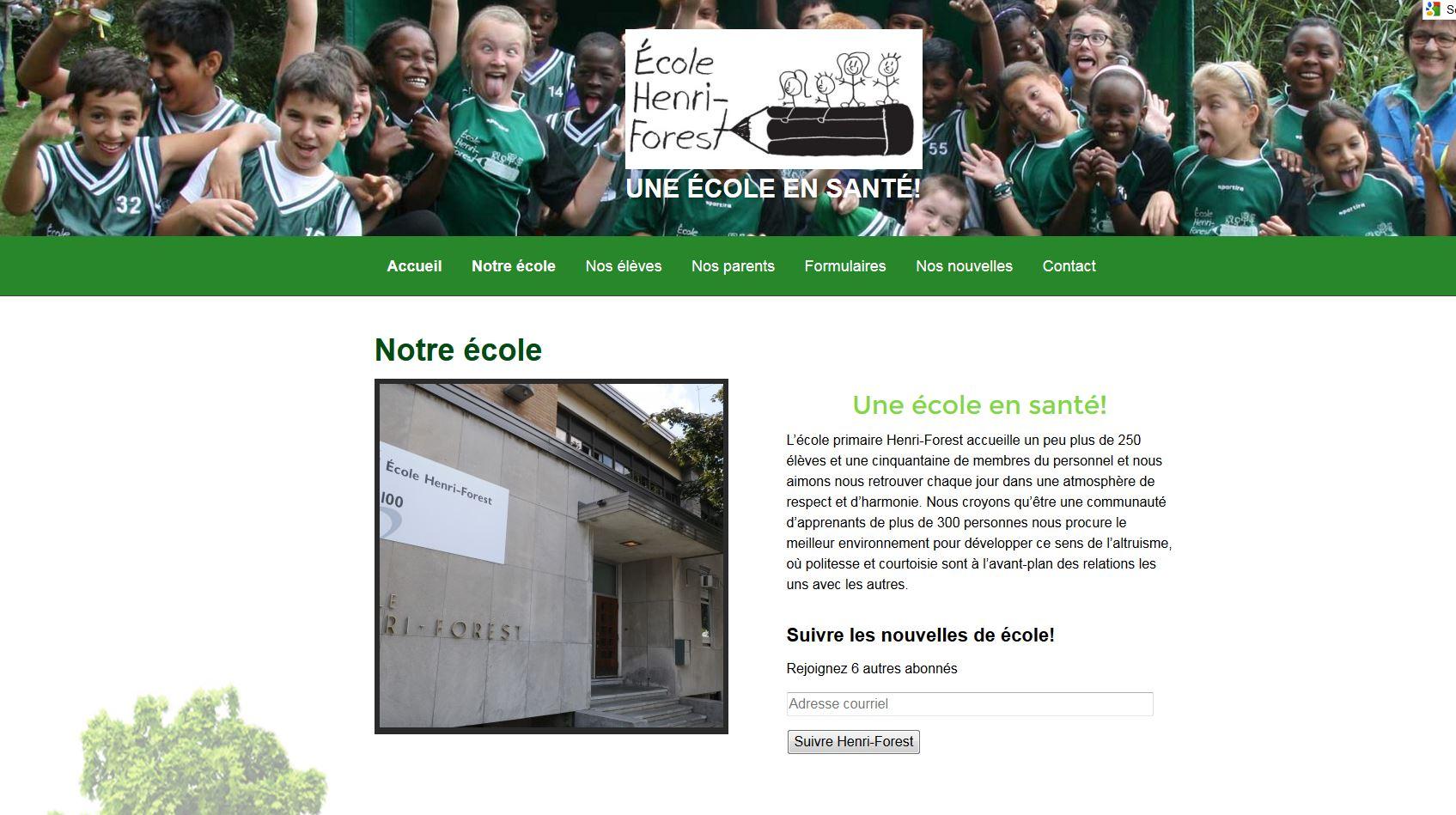 École primaire Henri-Forest