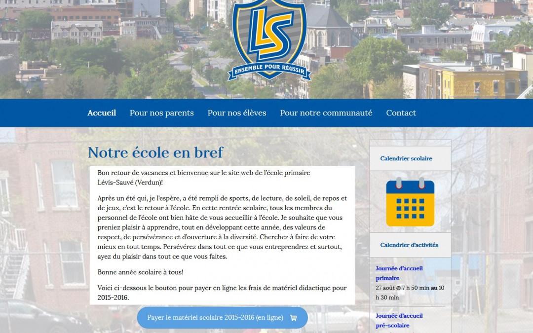 École primaire Lévis-Sauvé