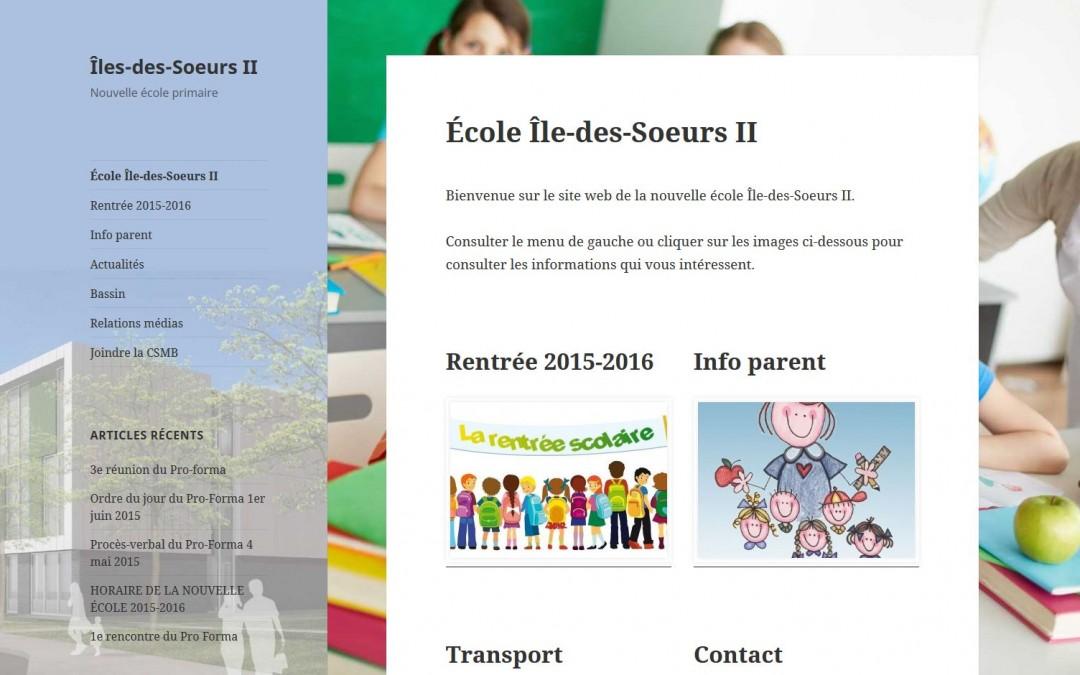 École primaire Île-des-Soeurs II