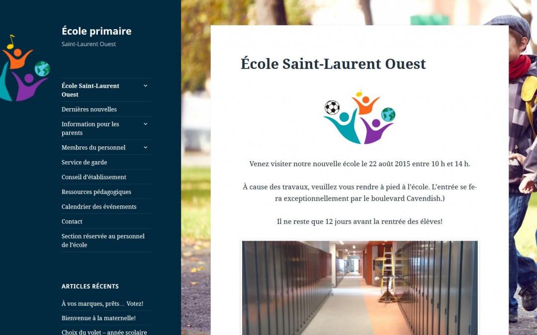 École primaire Saint-Laurent Ouest