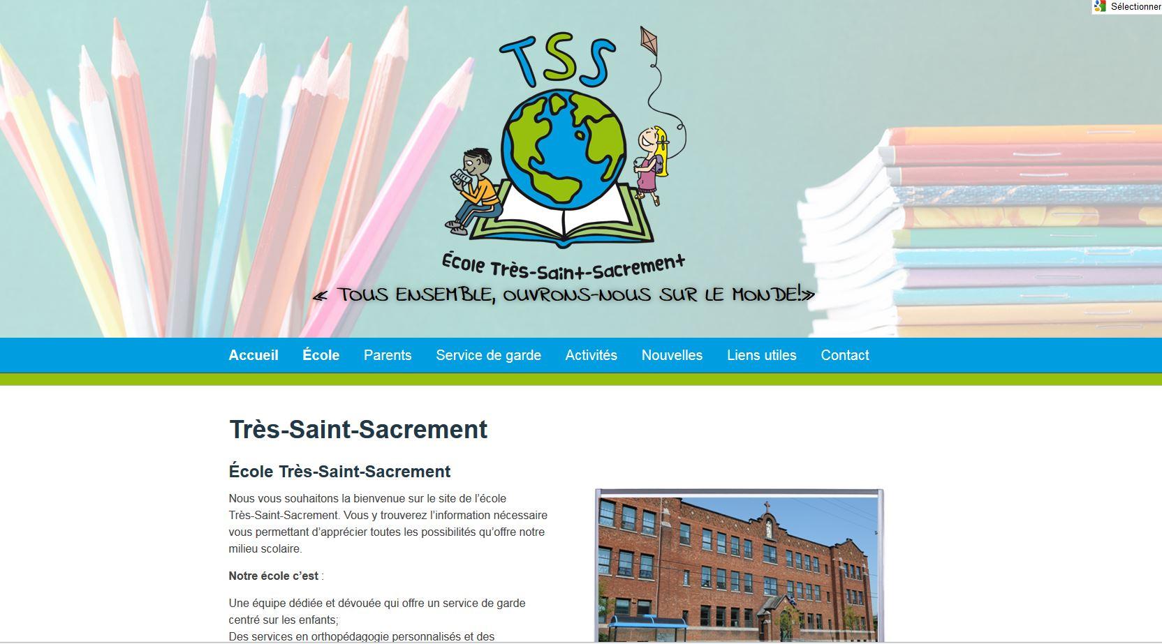 École primaire Très-Saint-Sacrement